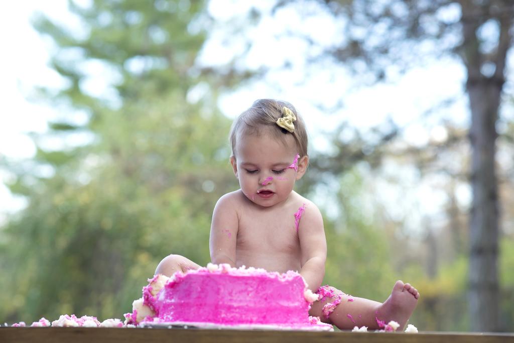 cake smash photography columbus oh