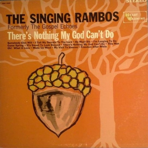 THERE'S NOTHING MY GOD CAN'T DO Reissue of Warner Bros. Presents The Gospel Echoes 1967