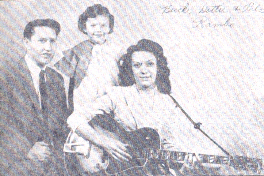 Buck, Reba and Dottie Rambo 1954