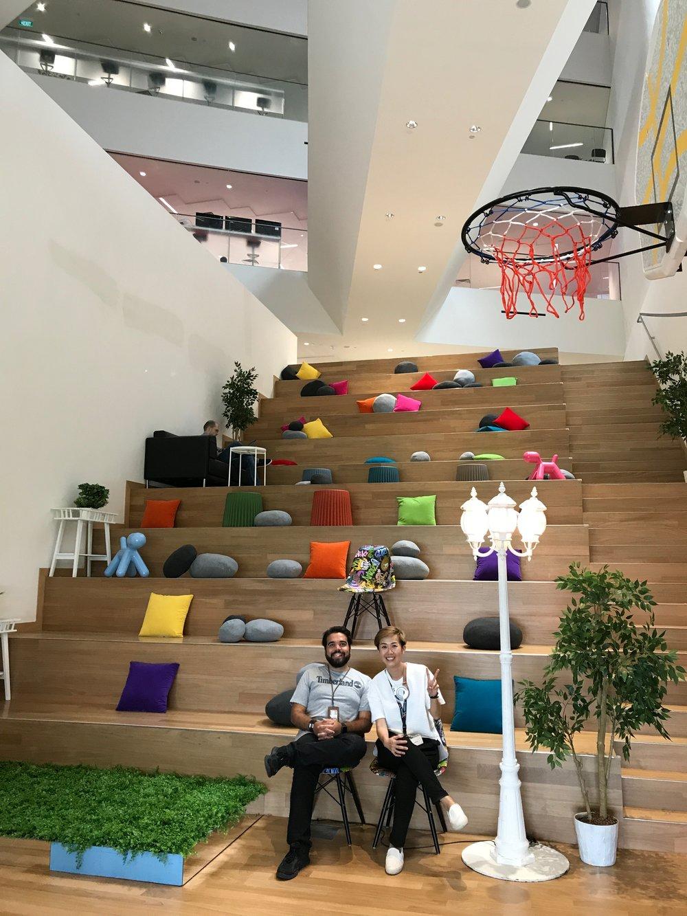 Diogo Martins (Program Manager) & Karen Chu (Brand Marketing Manager), Bloomr.SG