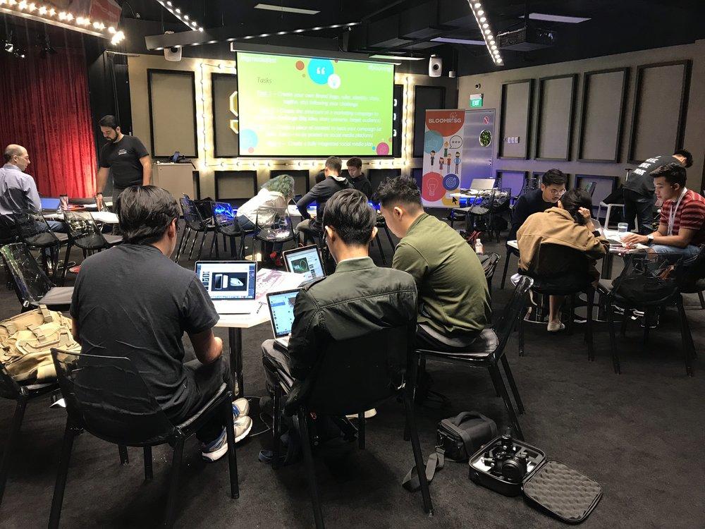 Singapore Media Festival X Ignite! Workshop