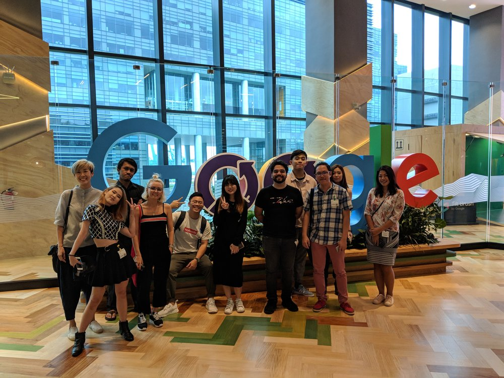 Bloomr Creators Visiting Google Headquarters