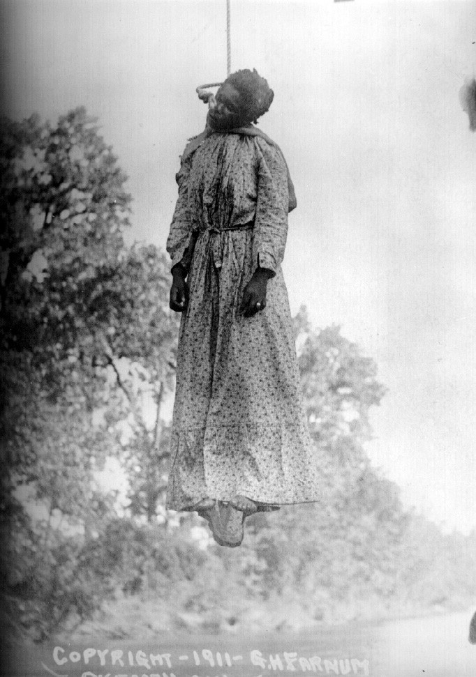 Laura Nelson is the only woman of whom a photograph is known to exist who was lynched in America.