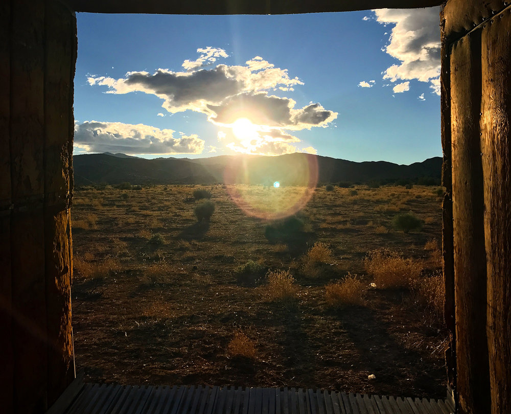 Border Camp - Renovation of a 1942 German Schult Travel Trailer and a 1951 Cabin in Joshua Tree, CA. 2.5 acres 8 miles from the main entrance of the park. 4 miles from Joshua Tree saloon, 20 minute from Pappys & Harriets in Pioneertown. Available for rent soon.