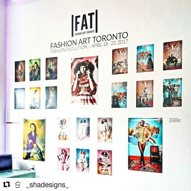 Really loved the photo exhibit! #Repost @_shadesigns_ with @repostapp ・・・ Swipe ➡  Today and tomorrow are your last chances to see the installations, fashion shows & performances at |FAT| @fashionarttoronto Here's a peek for everyone who can't make it! 😊🎨📷 1. @stephenloban / @michele_taras_photography 2. @justine.latour 3. @uncuffedleather  #fashion #fashionarttoronto #installations #fashionshow #runwayfashion #contemporaryfashion #runway #behindthescenes #art #photography #the6 #fashionphotography #toronto #torontoculture #downtowntoronto #torontoevents #fat2017 #fashionevolution #fashiondesign