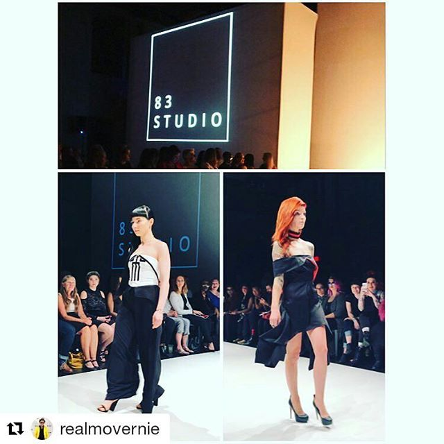 #Repost @realmovernie with @repostapp ・・・ 83 Studio at FAT 2017. @vanessakiraly @kehli_g . . . . . . #MoVernie.com #fattoronto #torontoevents #torontoliving #torontolife #fashiontrends #83studio #fat2017 #fashionartstoronto #fashionfilm #design # #designers #yyz #the6ix #theview #runway #models #runwaymodels #beautiful #beautifulgirls #fashionweek #mylife #life #lifestyle