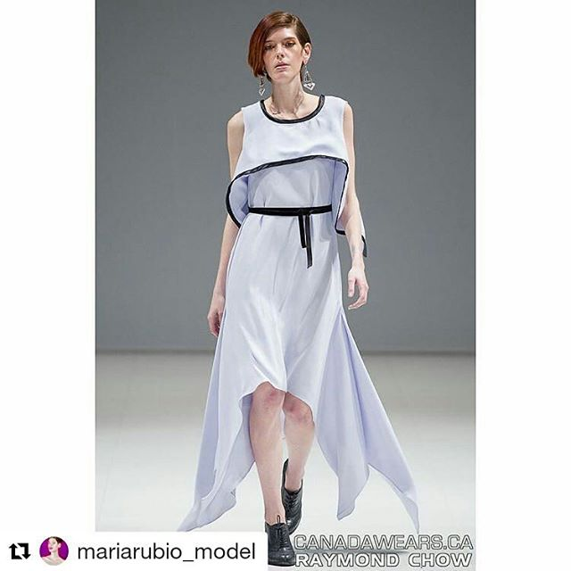 #Repost @mariarubio_model with @repostapp ・・・ About last night ✨ Walking for @83.studio at @fashionarttoronto.  Jewellery by @annalayaccessories  Photography by Raymond Chow Canada Wears #fat2017 #fashionarttoronto #localfashion #localdesign #model #runway