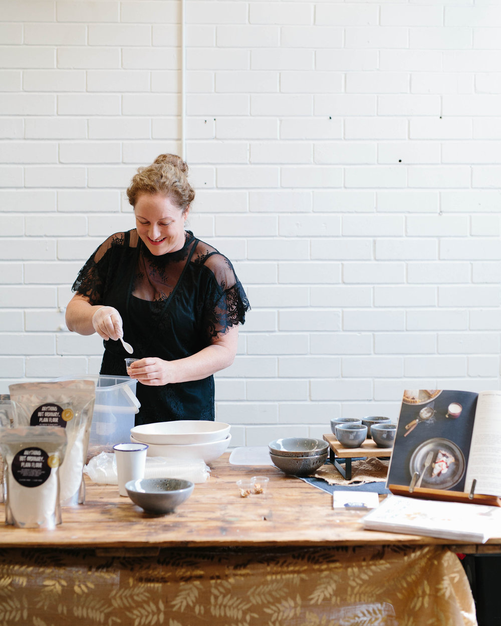 Bake your own granola demo at Stackwood Fremantle. Photo by Rae Fallon