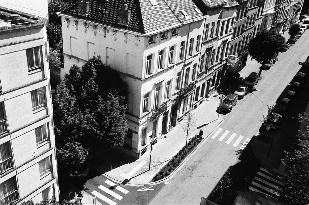 Pantone Hotel balcony