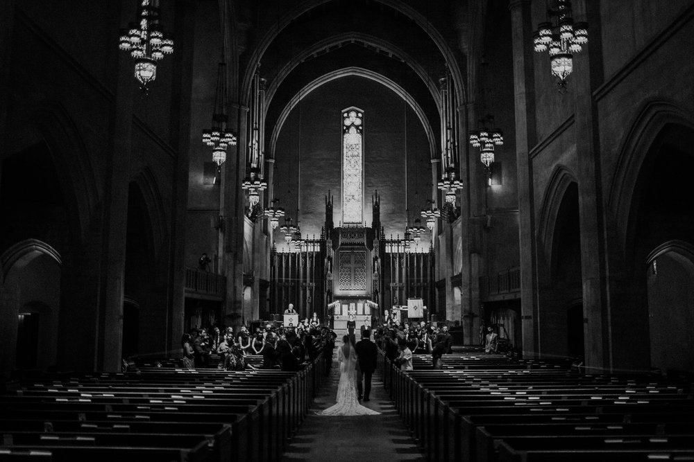 LA wedding ceremony