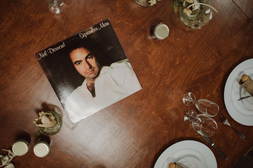 record LP decoration