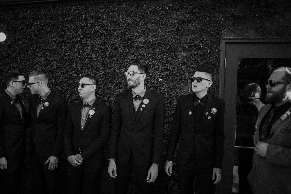 los angeles groomsmen