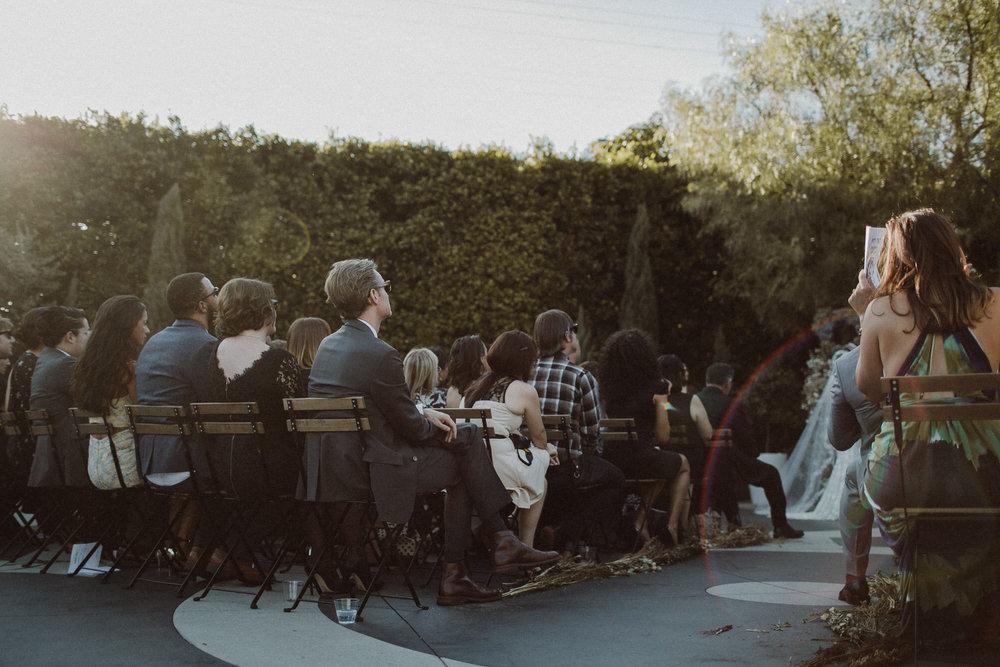 los angeles wedding guests