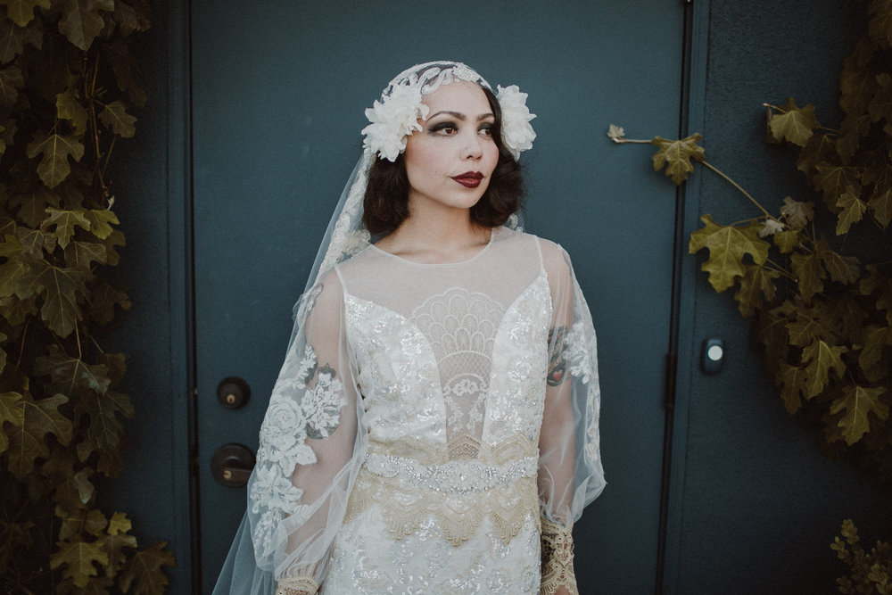 bridal portraits in los angeles