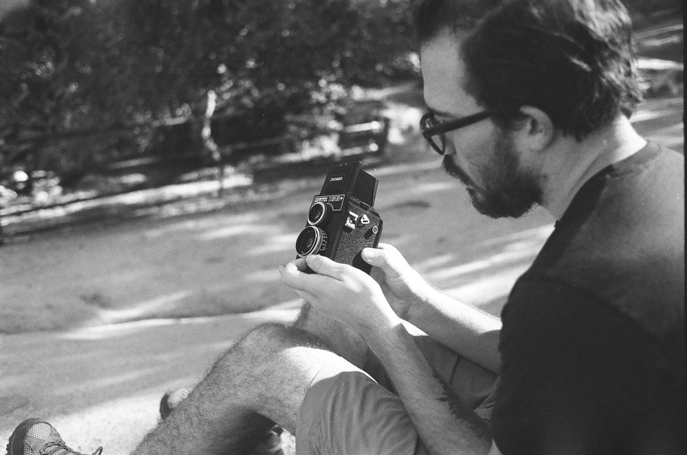 TLR film photography in yosemite