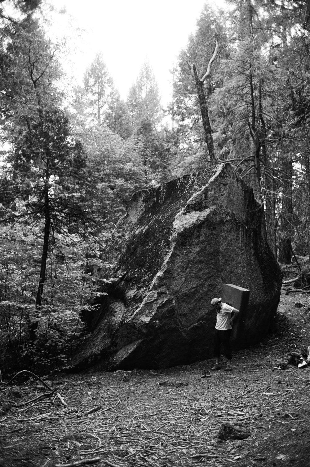 boulders in yosemite