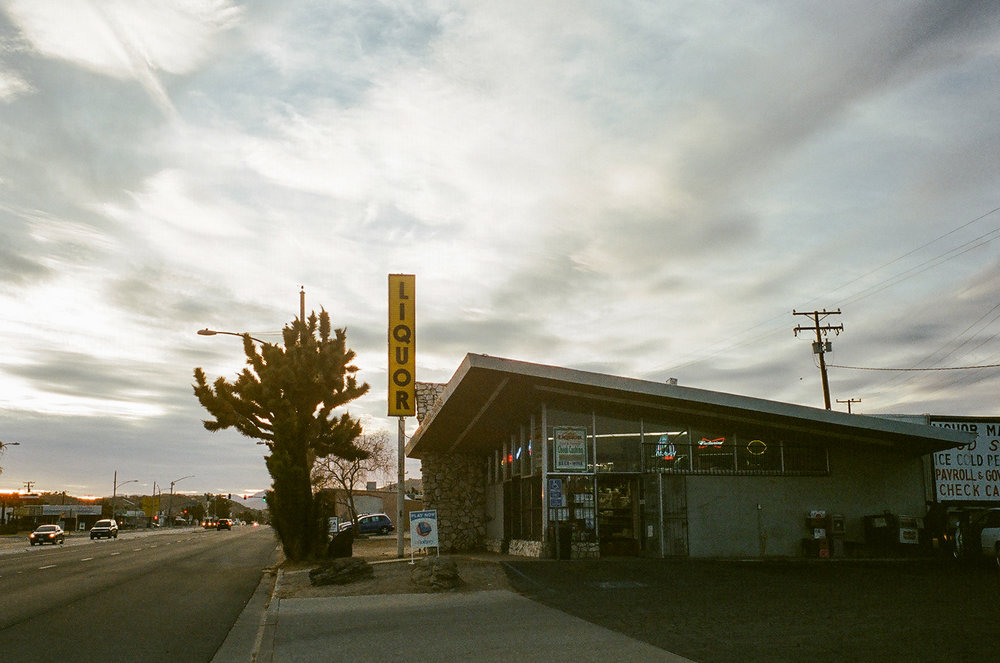Joshua Tree, CA highway 62