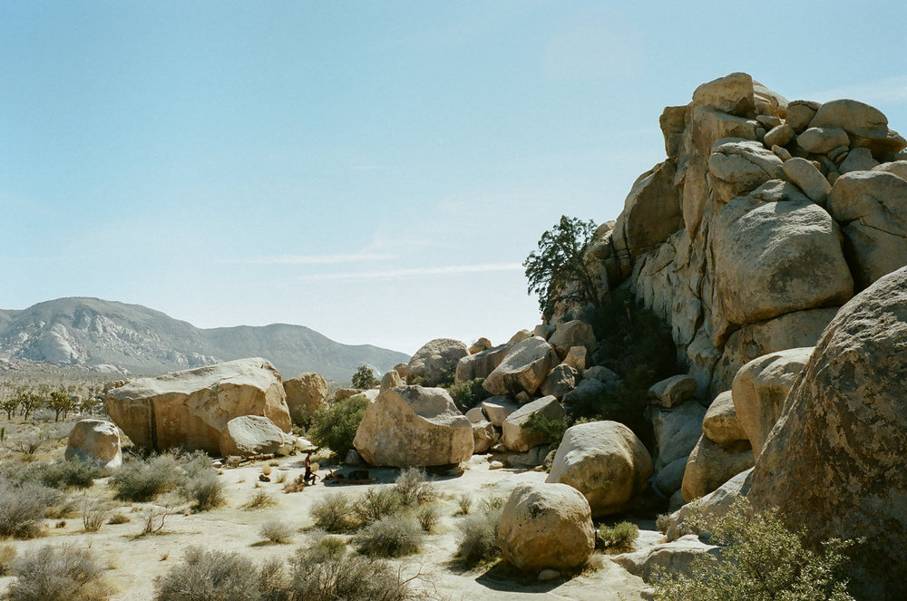 Classic Rock Climbing Problems in Joshua Tree
