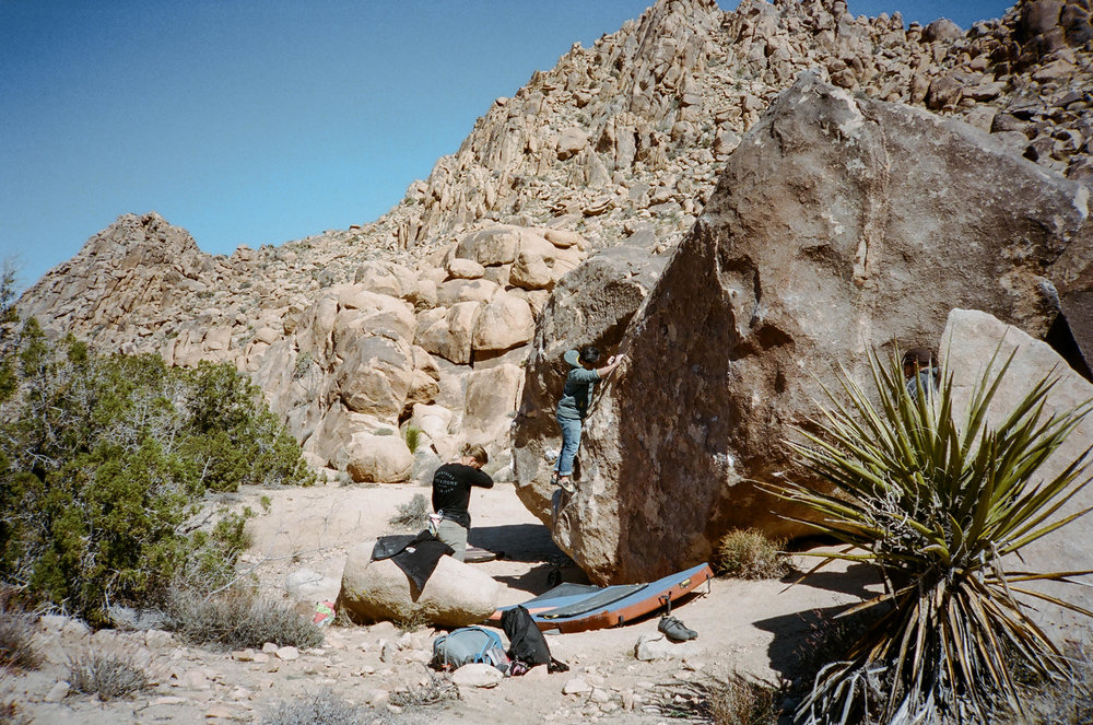 Joshua Tree Bouldering Guide