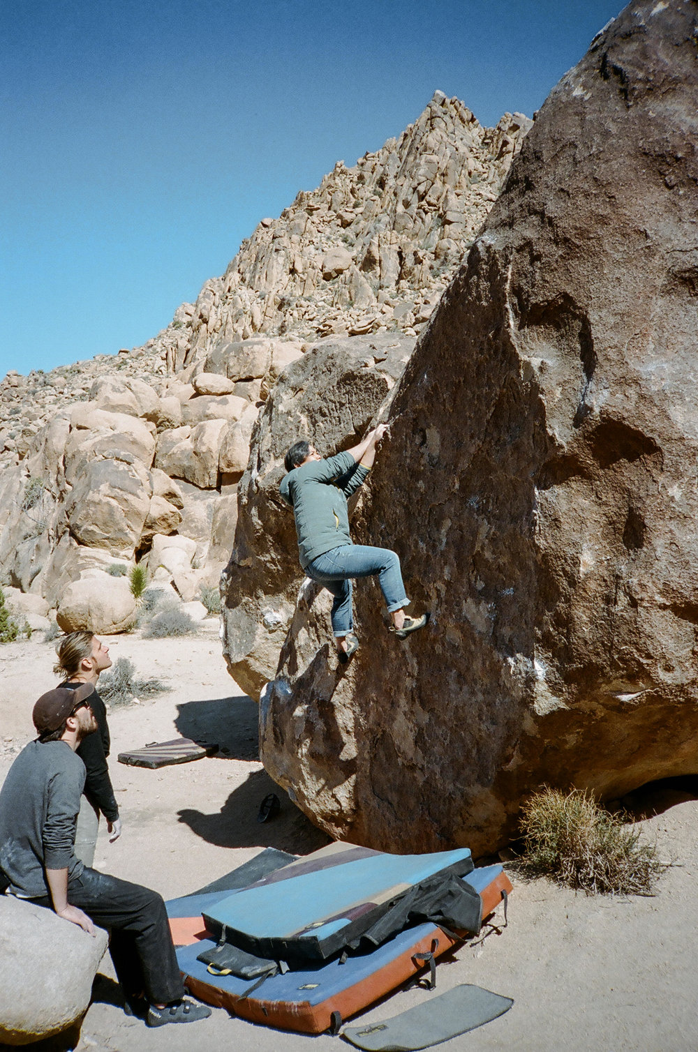 Chocolate Boulders in Joshua Tree
