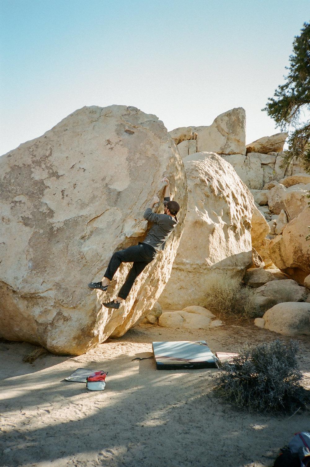 Climbing the Arete