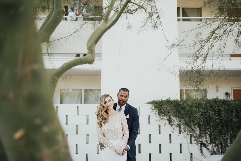 Wedding couple photos at the Ace Hotel