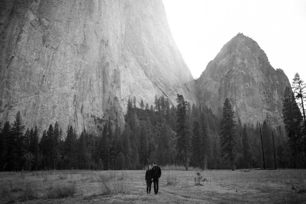 Yosemite engagement