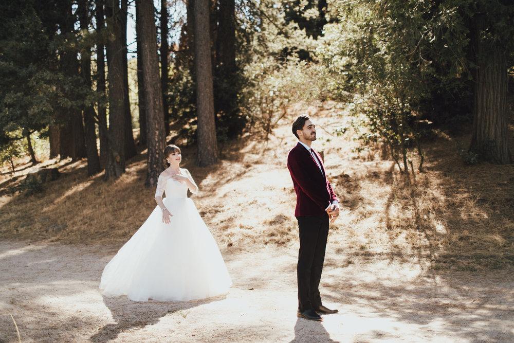 natural light wedding photographer