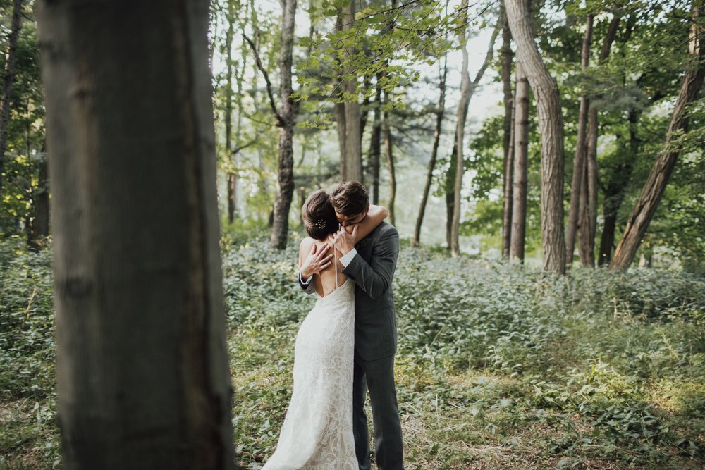 Beautiful and simple wedding portraiture