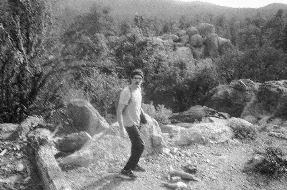 Blurry film photos