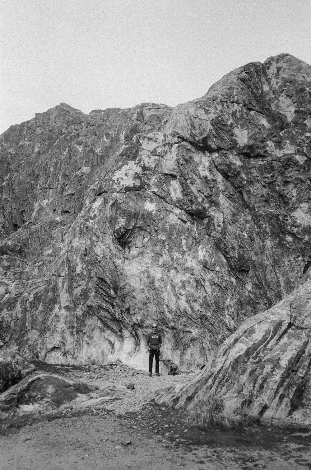 White Face rock climbing routes