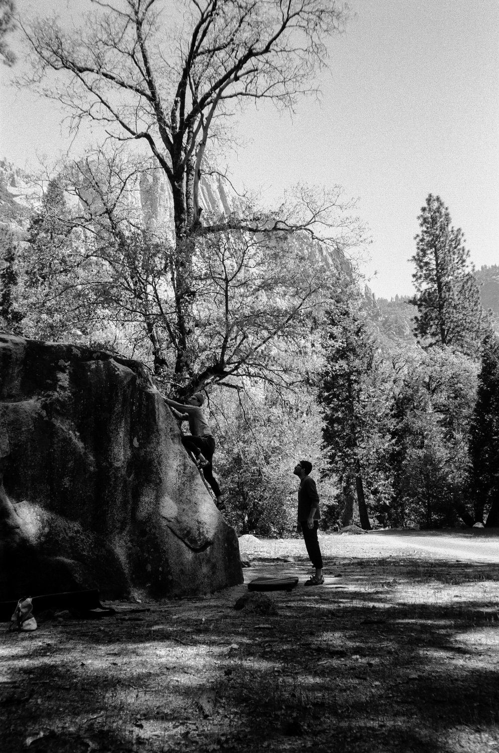 yosemite valley rock climbing