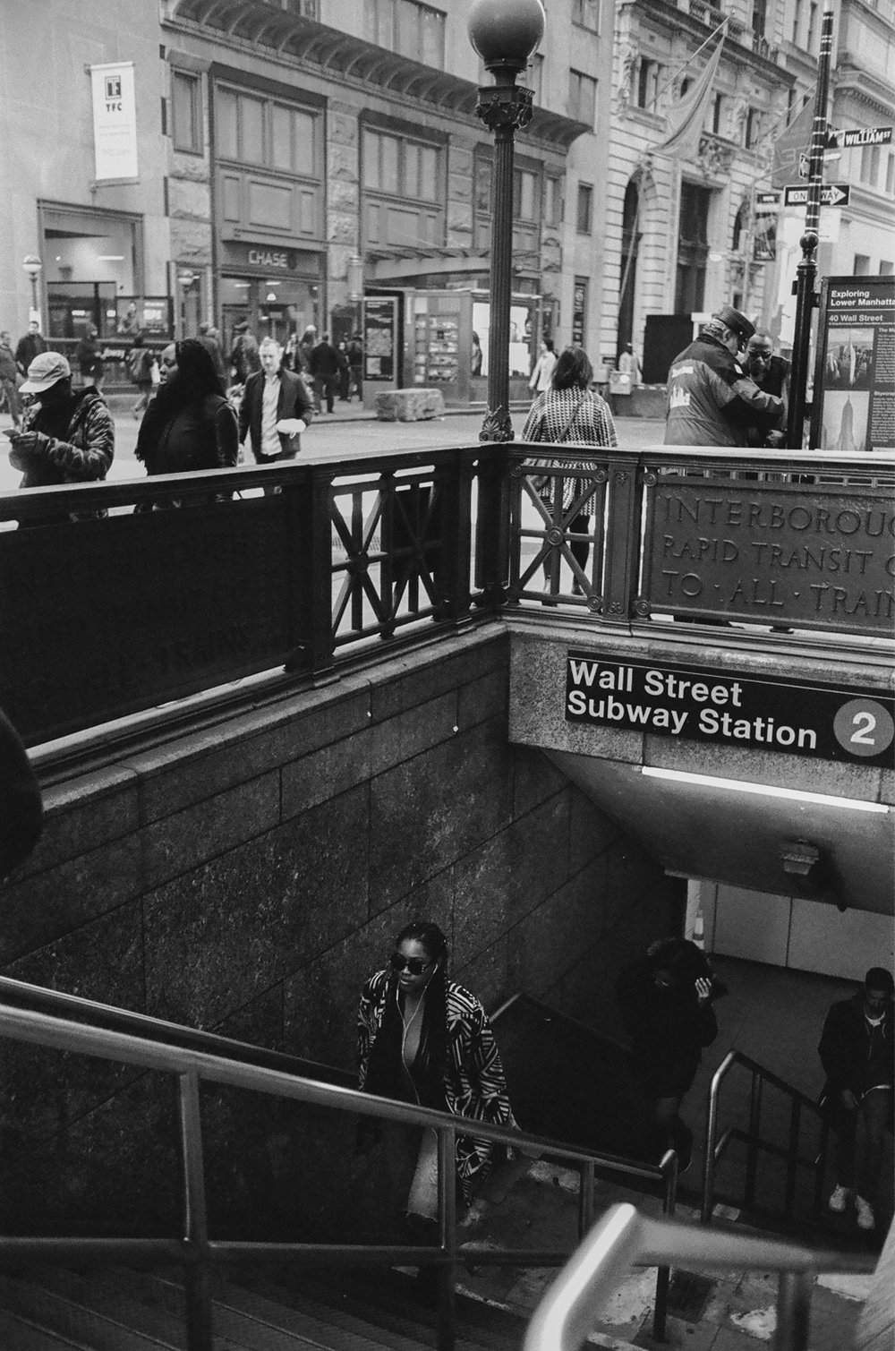 Wall Street street photography