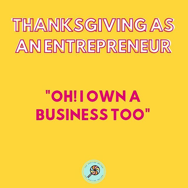 When you tell someone at thanksgiving that you own a business and they say they do too but they really don't.😂😂 • • Oh really?! Who's your email marketing provider? • • Where is your website built? • • How many times do you post on social media per week? • • #thespoiledwriter #thanksgivingasanentrepreneur