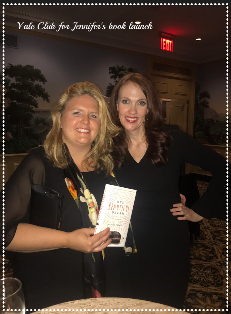 The One Beautiful Dream Book Tour began in New York City where we joined the Fulwiler's at the Yale Club and watched as they toured the East Coast and landed in our Basilica. Thanks, Jen, for a wonderful talk and visit!