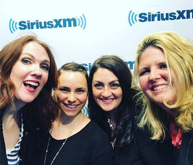 Thinking back to the amazing visit to SiriusXM to chat on the Jennifer Fulwiler show. Thank you Jen and Liz for your hospitality and the opportunity to see first-hand the up close and personal awesome it is to produce a radio show like this. @liz.aiello @jenniferfulwiler We literally received ice cream cones as we entered the studio, then we received coffee tailored to our tastes. Jackie was amazing! ... We had hosted Jen and Joe and their beautiful children the previous night at the Basilica in our hometown, and what I noticed among many noteworthy mentions was Joe's support to Jen. It moved me the way he had your best interests and comfort at heart. The little things make a marriage and I could see you two truly love and care for each other. I also was moved by Liz, your producer coming to the book signing the previous night in the rain to support you.  The ways we love each other matter. Just be loving and kind. Show hospitality always and everywhere. There are no strangers, just friends we haven't yet met. #homeplacewisdom