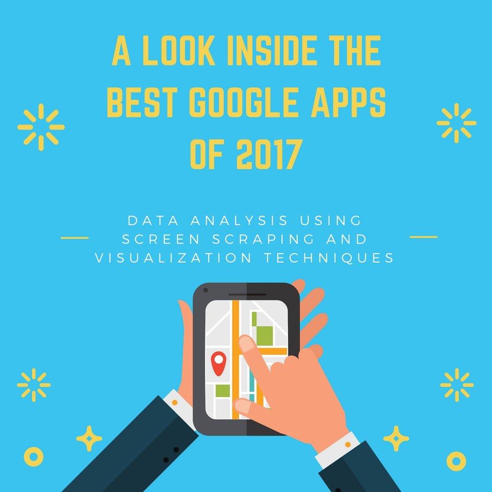 Analysis on Google's Best Apps of 2017 List — Little Miss Data