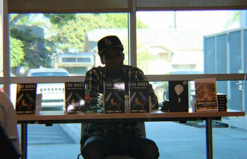 "Stanley James II"" Is from  the North Side of Long Beach , California former member of a Crip Organization and went by the name "" BabyFace"". Stanley has completely transitioned his life completely from serving time in and out of jail, throughout his entire teens. James decided to leave the drug game and solely commit to writing fictional novels professionally. James used his drug money to self fund his Craft, and invested into fully learning the business. As James continued to grow he met mentors and gained several relationships which put him in position to publish his first book, ""The Bust"" (Live by the gun die by the gun) which was joint published through ""No Brakes"" based out of Los Angeles In August 2017. During the Process of Getting his first novel James faced a few unfortunate events losing three best friends to murder. Since then James released  his second novel ""True 2 the Streets"" with Keisha Williams In August 2018. James Is currently In the works of shooting a short film based on his books and poetry. Stanley has sold over twenty-five thousands books worldwide. James Is also about to release his newest project ""Escobar's Revenge"" sometime In 2019. Stanley James II Is the Author of the streets soon to be International stay connected!!"