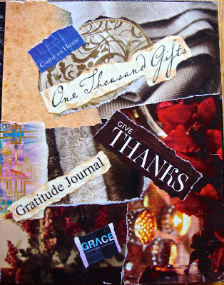 Collage Cover for Counting Gifts by Connie Denninger
