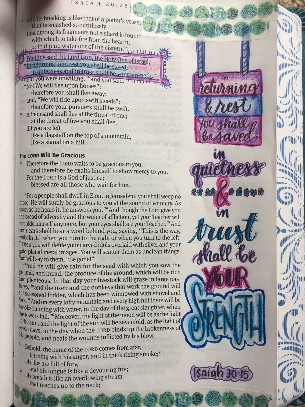 Bible Journaling by Jessica Meier