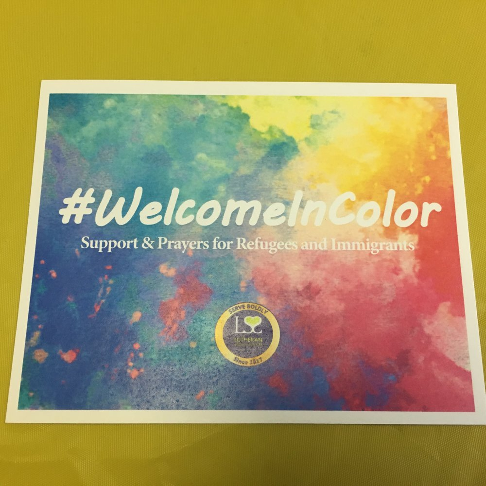 Anyone can pray for these families and share their prayers using this hashtag- #WelcomeInColor.