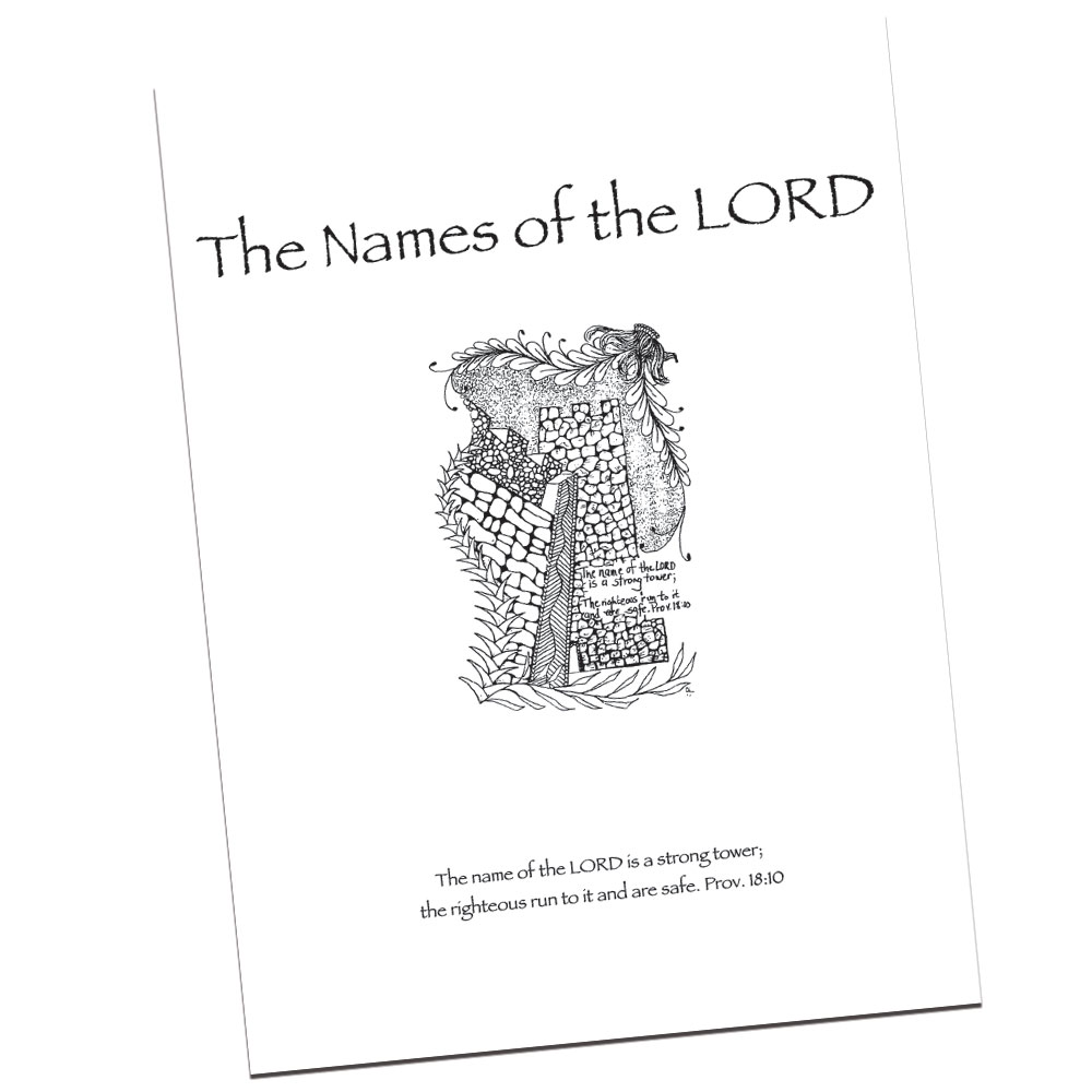 The Names of the Lord by Carla Kramer — Visual Faith Ministry