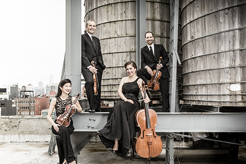 Jasper String Quartet Credit: Dario Acosta