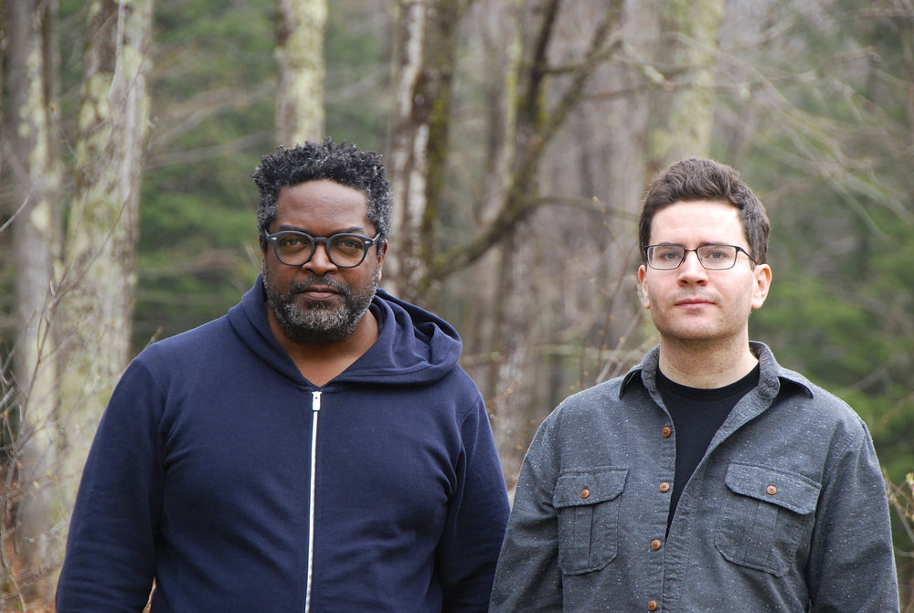 Subtle Degrees: Gerald Cleaver (L) and Travis Laplante (R) Credit: Adi Nachman