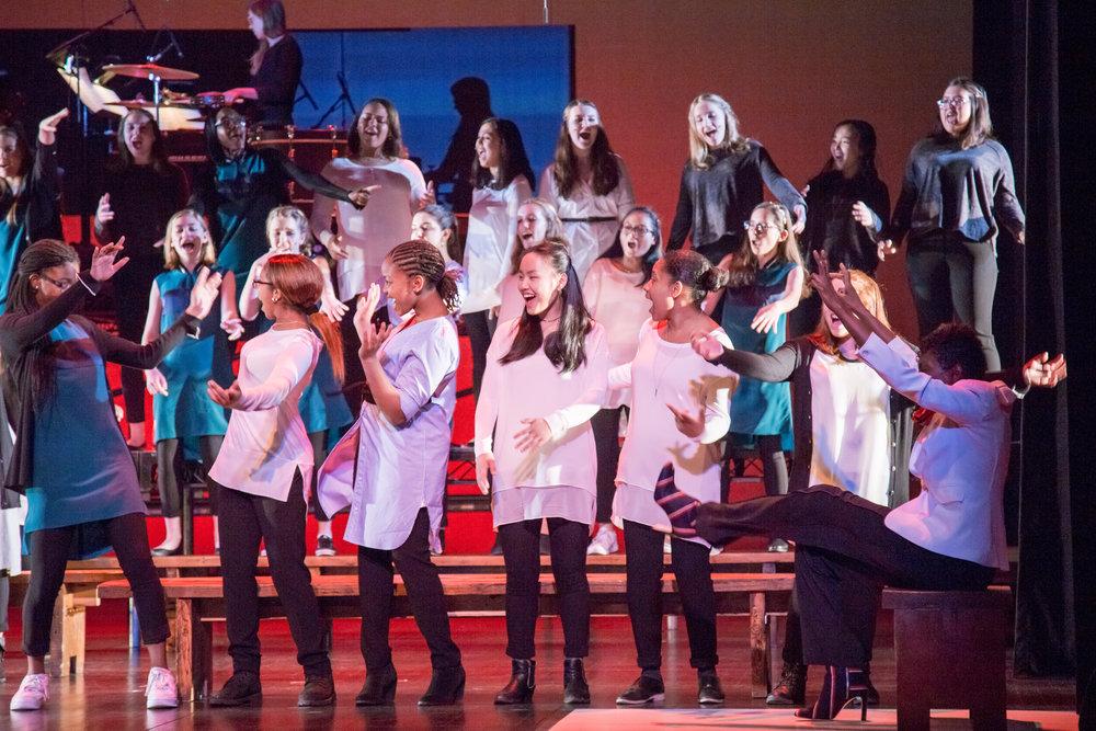 Brooklyn Youth Chorus  Credit: Kathryn Tornelli