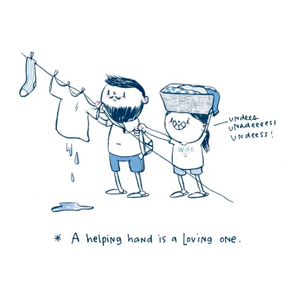 A loving hand job. HAHAHA (sorry I had to!)