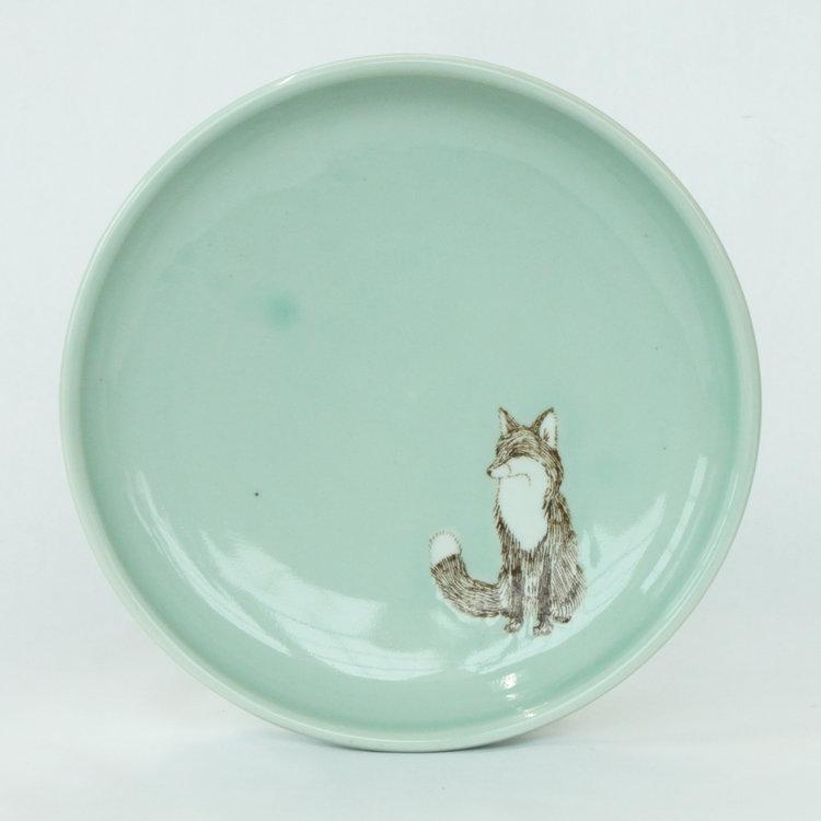 HA-SKT Ceramics fox plate.jpg