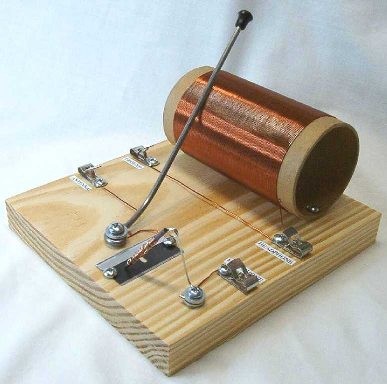 BUILD YOUR OWN CRYSTAL RADIO -
