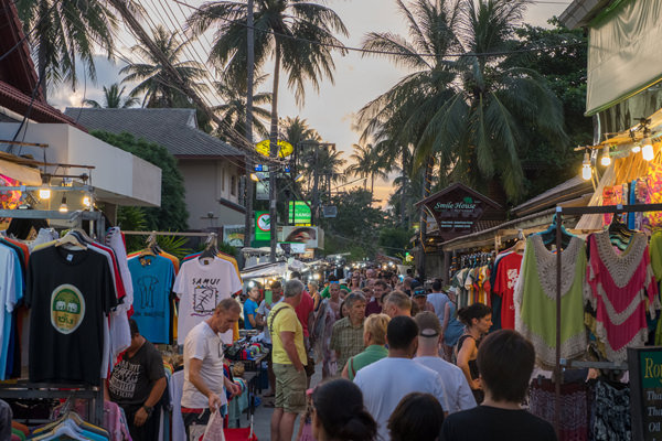 Fisherman's Village Market, Koh Samui