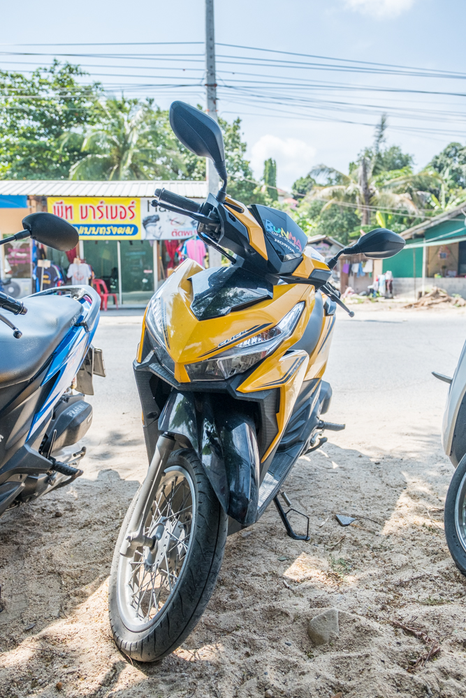 My Scooter (A.K.A. The 'Banana Bike')